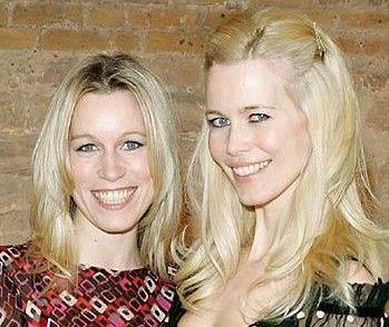 Claudia ve Caroline Schiffer